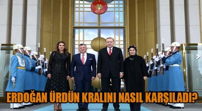 Erdoğan Ürdün Kralı Abdullah'ı resmi törenle karşıladı