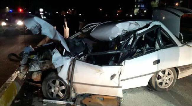 Denizli'de dehşet veren kaza: 1 ölü