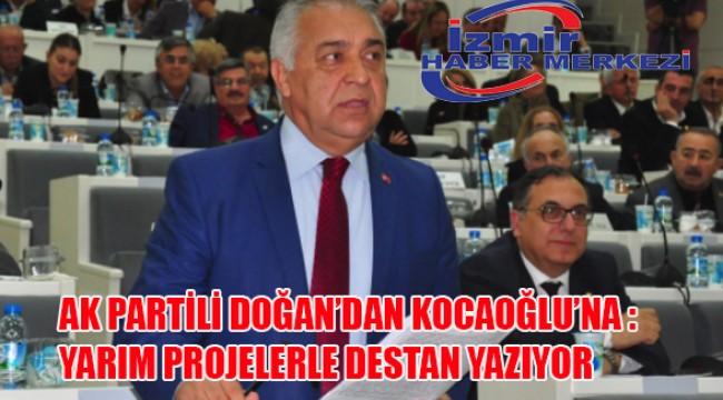 AK Partili Doğan'dan Kocaoğlu'na