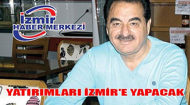 Tatlıses Yatırımlarını İzmir'de Yapacak