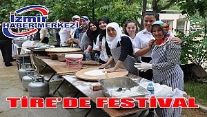 Tire'de festival zamanı
