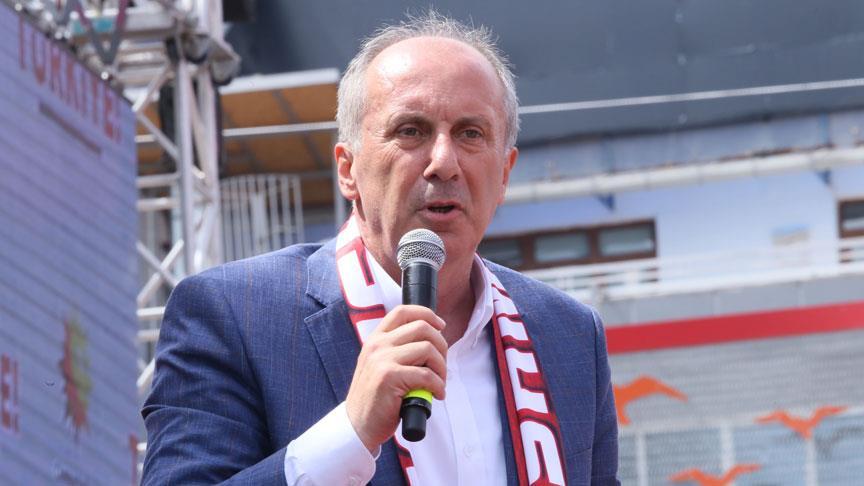 CHP'nin cumhurbaşkanı adayı İnce: Çocuklarımızın geleceği için önce uzlaşacağız