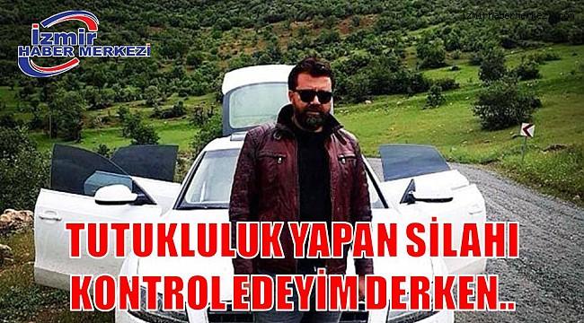 TUTUKLULUK YAPAN SİLAHI KONTROL EDEYİM DERKEN..