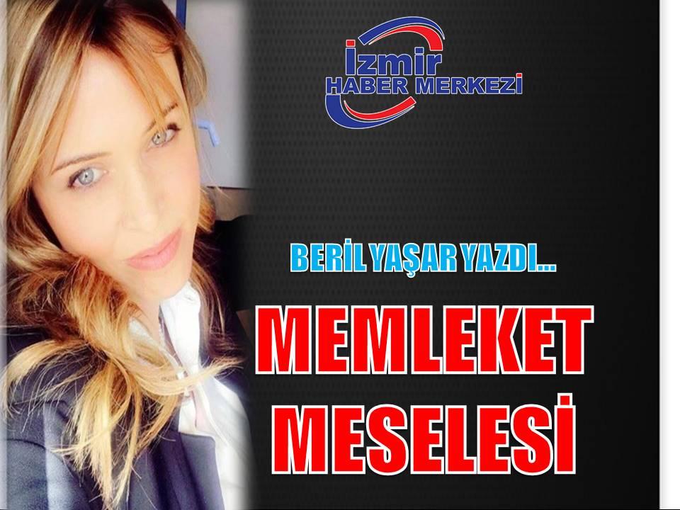 MEMLEKET MESELESİ