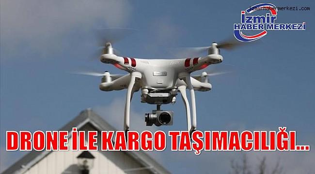 DRONE İLE KARGO TAŞIMACILIĞI...