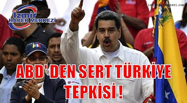 ABD' DEN SERT TÜRKİYE TEPKİSİ !