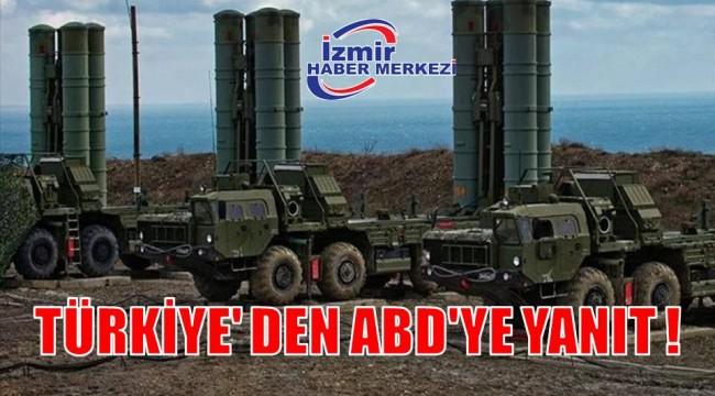 TÜRKİYE' DEN ABD'YE YANIT !
