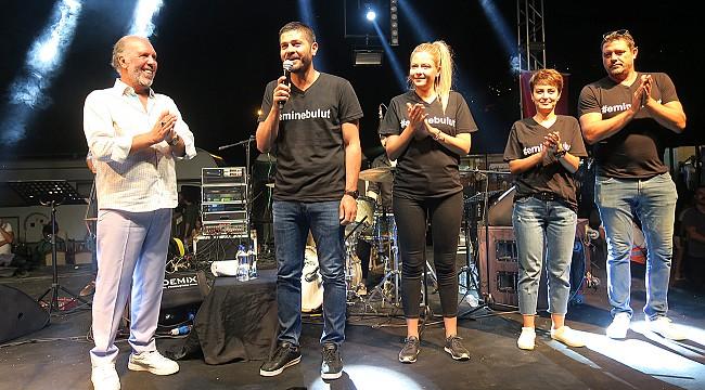 BAŞKAN  GÜRBÜZ, EMİNE BULUT'U UNUTMADI