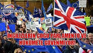 İngilizlerin çoğu parlamento ve hükümete güvenmiyor!