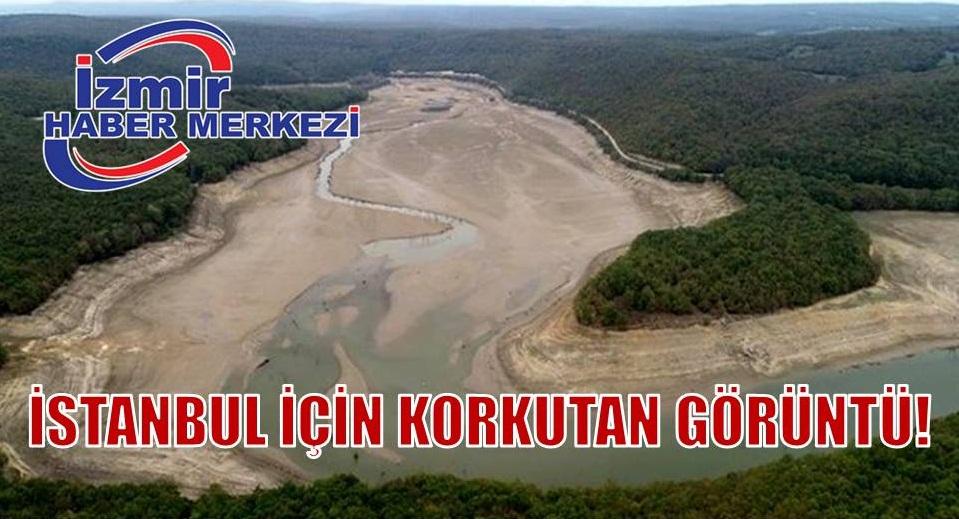 İstanbul'a su sağlayan barajlarda korkutan görüntü!