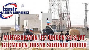 Rus ordusu, Türkiye'yle varılan mutabakat kapsamında kontrolü ele almak için Kobani'ye girdi