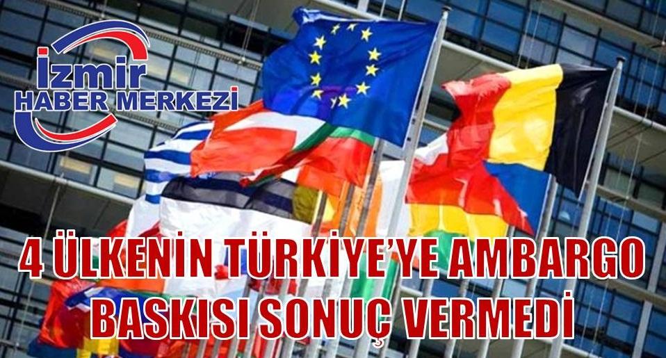 Son dakika: AB ülkeleri Türkiye'ye silah satışı ambargosu konusunda uzlaşamadı