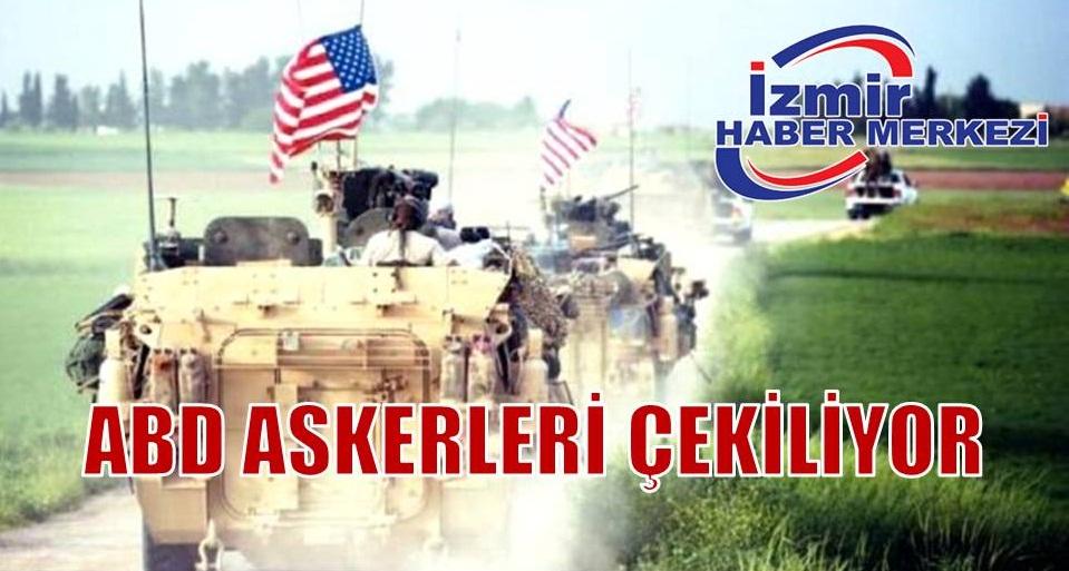 Son dakika: ABD, Türkiye sınırındaki bölgelerden çekildi iddiası