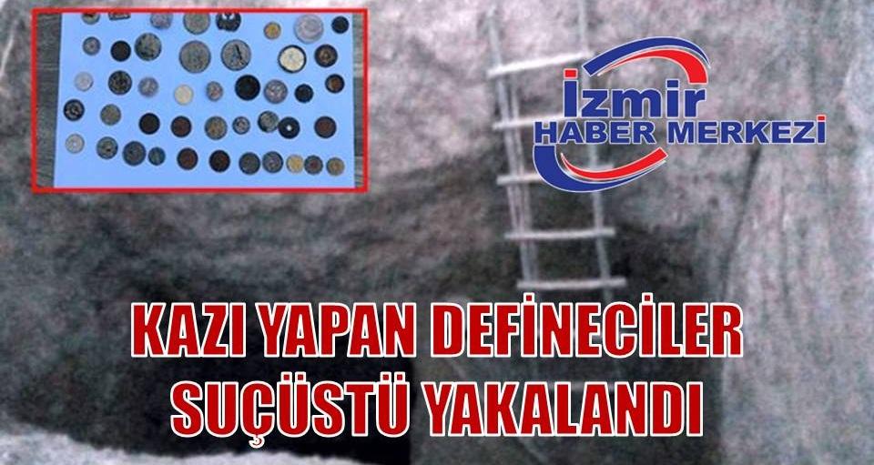 Defineciler suçüstü yakalandı: Osmanlı dönemine ait 44 adet sikke ele geçirildi