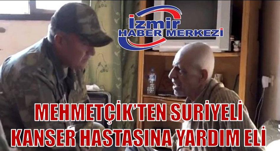 Mehmetçik, Rasulayn'da kanser hastası adamın dermanı oldu