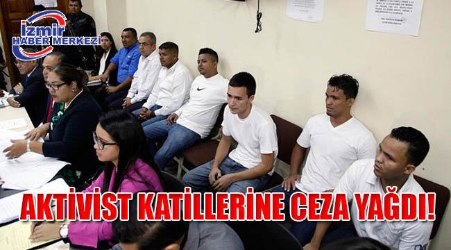 Aktivist katillerine ceza yağdı!