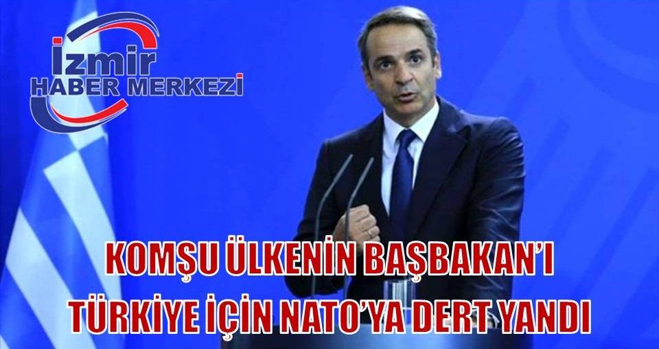 Yunanistan Başbakanı Miçotakis, NATO'dan Türkiye'yi kınamasını istedi
