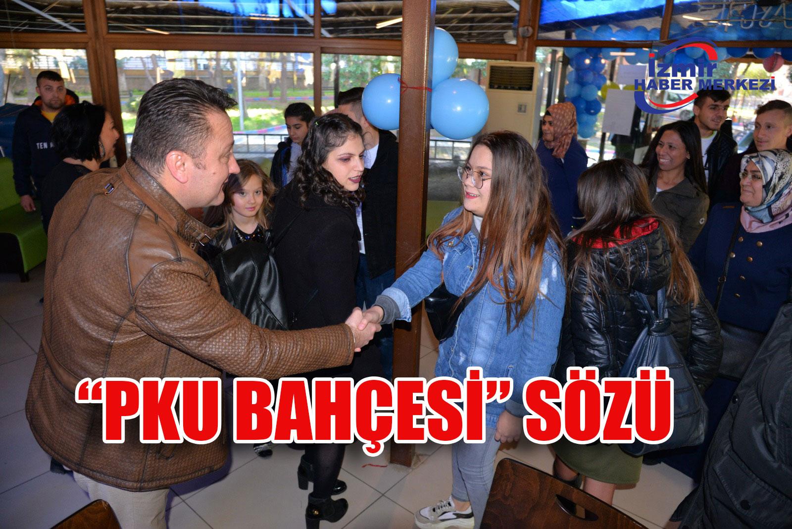 """Başkan Aksoy'dan """"PKU Bahçesi"""" sözü"""