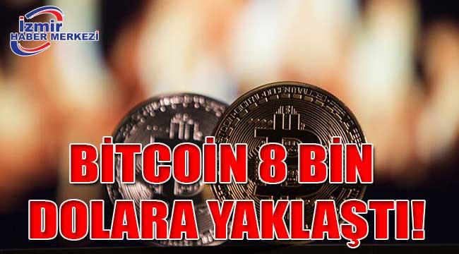 Bitcoin 8 bin dolara yaklaştı!