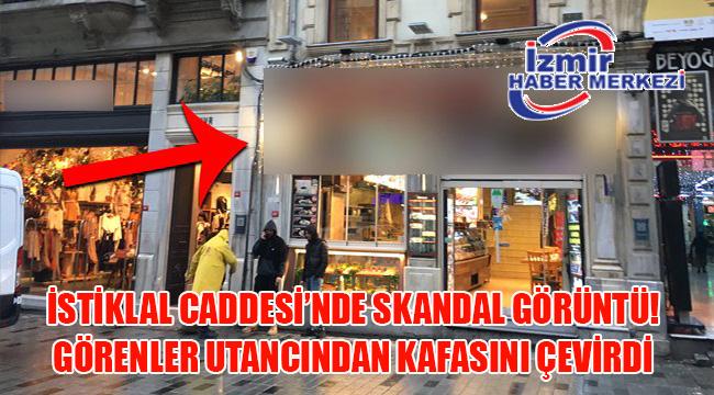 İstanbul'un en işlek caddesindeki bir kebapçıda cinsel içerikli film oynatıldı