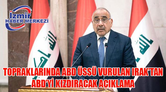 Son dakika: Irak Başbakanı: İran, ABD üssüne saldırmadan önce bize bilgi verdi