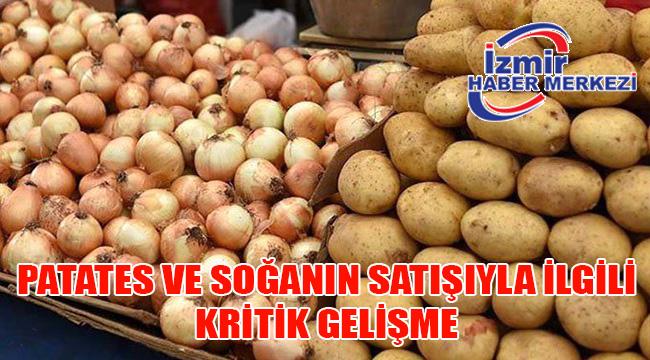 Son dakika: Patates ve kuru soğanın yurt dışına satışına kısıtlama getirildi