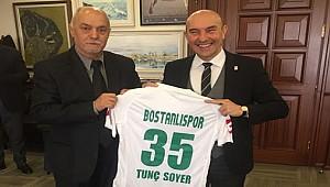 Bostanlıspor'un 35 Numarası Tunç Soyer'in...