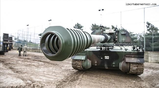 Suriye sınırına tank ve Fırtına obüsü takviyesi
