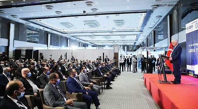 Libya'nın üst düzey iş adamları ve bürokratları iş birliği için Türkiye'de