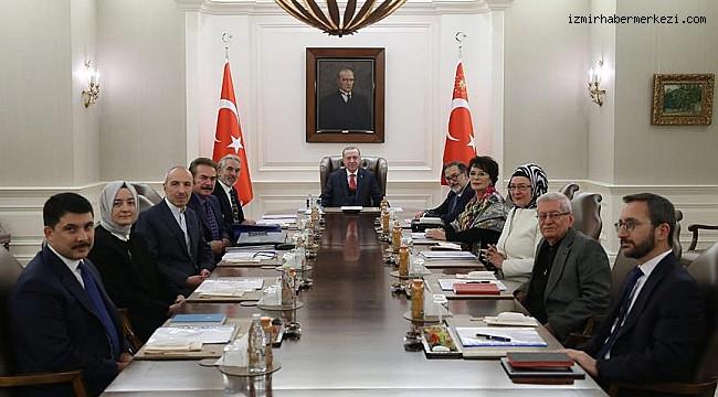Cumhurbaşkanlığı Kültür ve Sanat Politikaları Kurulu toplandı
