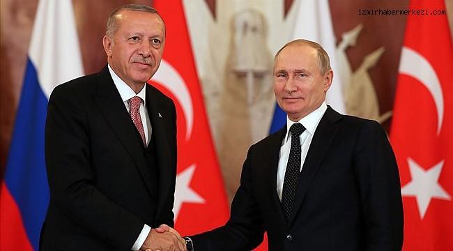 Erdoğan, Putin ile Dağlık Karabağ'ı görüştü