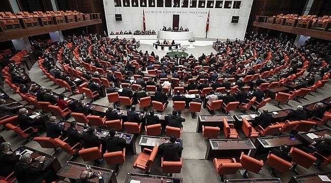 Yeni yılın ilk dokunulmazlık fezlekeleri Meclis'te