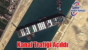 Uluslararası veriler Süveyş Kanalı'nda Gemi Geçişlerinin Normale Döndüğünü Teyit Etti