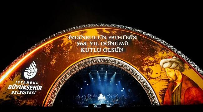 İSTANBUL, FETHİ'Nİ LAYIKIYLA KUTLADI