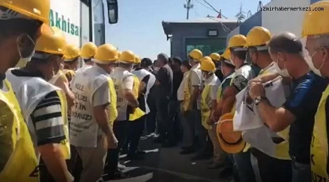 Somalı madencilere polis engeli